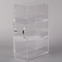 Cal-Mil 1204-12 Three Section Clear Bread Box