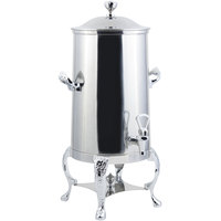 Bon Chef 47003-1C Renaissance 3 Gallon Insulated Stainless Steel Coffee Chafer Urn with Chrome Trim