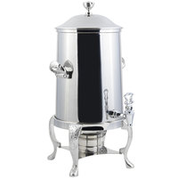 Bon Chef 47103C Renaissance 3.5 Gallon Stainless Steel Coffee Chafer Urn with Chrome Trim