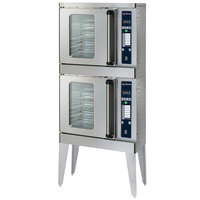 Alto-Shaam 2-ASC-2E/STK/E Platinum Series Stacked Half Size Electric Convection Oven with Electronic Controls - 208V, 5000W