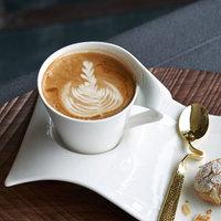 Villeroy & Boch 10-2484-1330 NewWave 8.5 oz. White Premium Porcelain Cappuccino Cup - 6/Case
