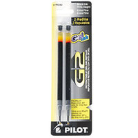 Pilot 77232 Black Ink Extra-Fine Point Roller Ball Retractable Gel Pen Refill - 2/Pack