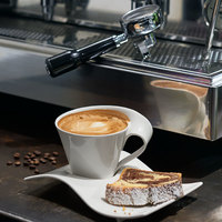 Villeroy & Boch 10-2484-1210 NewWave 13 oz. White Premium Porcelain Coffee Cup - 6/Case