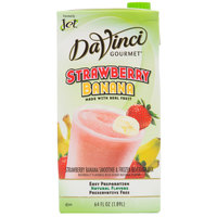 DaVinci Gourmet 64 oz. Strawberry Banana Real Fruit Smoothie Mix