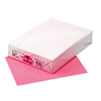 Pacon 102206 Kaleidoscope 8 1/2 inch x 11 inch Hyper Pink Ream of 24# Multi-Purpose Paper - 500/Sheets