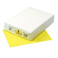 Pacon 102055 Kaleidoscope 8 1/2 inch x 11 inch Lemon Yellow Ream of 24# Multi-Purpose Paper - 500/Sheets