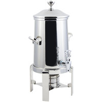 Bon Chef 42105C Contemporary 5.5 Gallon Stainless Steel Coffee Chafer Urn with Chrome Trim