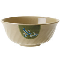 GET M-608-TD Japanese Traditional 1.5 Qt. Fluted Bowl - 12/Case