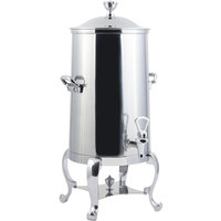 Bon Chef 49001C Roman 1.5 Gallon Insulated Stainless Steel Coffee Chafer Urn with Chrome Trim