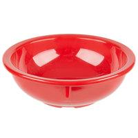 Carlisle KL11805 Kingline 10 oz. Red Nappie Bowl - 48/Case