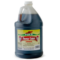 Fox's Tamarind Snow Cone Syrup 4 - 1 Gallon Containers / Case