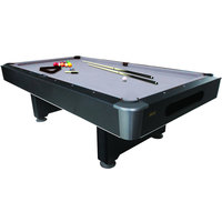 Mizerak P5423W1 Dakota 8' Slate Billiard / Pool Table with Accessories