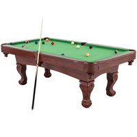 Triumph 45-6784 Santa Fe 7 1/2' Billiard / Pool Table with Accessories