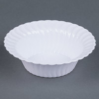 Fineline Flairware 205-WH White 5 oz. Plastic Bowl - 180/Case