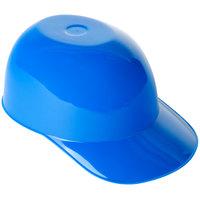 8 oz. Blue Mini Baseball Helmet Ice Cream / Snack Bowl - 300/Case