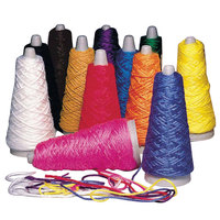 Pacon 00590 Trait-Tex Assorted Color Double Weight Yarn Cone - 12/Box