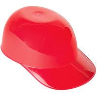8 oz. Red Mini Baseball Helmet Ice Cream / Snack Bowl - 300/Case