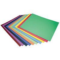 Pacon 5487 Peacock 28 inch x 22 inch Assorted Color 4-Ply Railroad Board - 100/Case