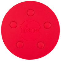 Lodge ASLMT41 8 inch Red Round Magnetic Trivet