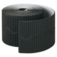 Pacon 37306 Bordette 2 1/4 inch x 50' Black Decorative Border