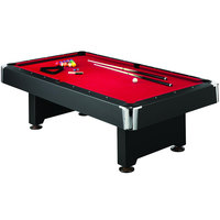 Mizerak P5223W1 Donovan II 8' Slate Billiard / Pool Table with Accessories