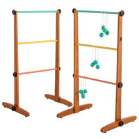 Viva Sol VS3000 Outdoor Ladderball Game Set with Wood Frame