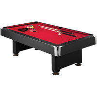 Mizerak P5223W2 Donovan II 8' Slatron Billiard / Pool Table with Accessories