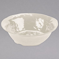 GET ML-134-IV New Yorker 6.5 qt. Ivory Round Serving Bowl - 16 inch