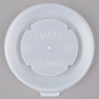 Cambro CLSM8B5190 Disposable Translucent Lid for Tumblers and Healthcare Bowls and Mugs - 1500/Case
