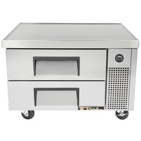 True TRCB-36 36 inch Two Drawer Refrigerated Chef Base