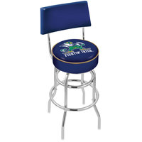 Holland Bar Stool L7C430ND-Lep University of Notre Dame Double Ring Swivel Stool with Padded Back and Seat
