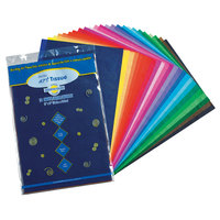 Pacon 58520 Spectra 12 inch x 18 inch Assorted Color 10# Tissue Paper - 50/Pack