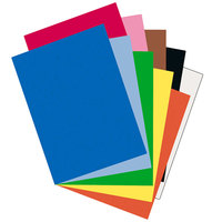 Pacon 103478 Riverside 18 inch x 24 inch Assorted Color Pack of 76# Construction Paper - 50/Sheets