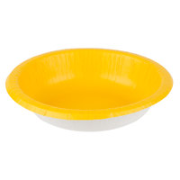 Creative Converting 173269 20 oz. School Bus Yellow Paper Bowl - 200/Case