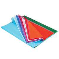 Pacon 58516 Spectra 20 inch x 30 inch Assorted Color 10# Tissue Paper - 100/Pack
