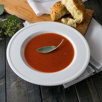 World Tableware 1502-10230 Empire 11.5 oz. Alpine White Porcelain Soup Bowl - 12/Case