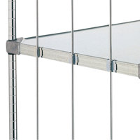 Metro 9184Z Super Erecta Solid Shelf Rod Tab - 6/Bag