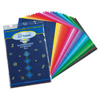 Pacon 59530 Spectra 12 inch x 18 inch Assorted Color 10# Tissue Paper - 100/Pack