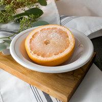 World Tableware 1502-20155 Empire 8 oz. Alpine White Porcelain Grapefruit Bowl - 36/Case