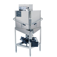 CMA Dishmachines E-C2 Single Rack Low Temperature, Chemical Sanitizing Corner Dishwasher - 115V
