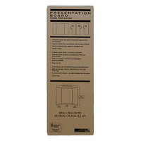Pacon 3784 36 inch x 48 inch Extra Fold Corrugated Presentation Board