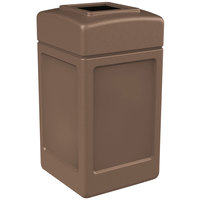 Commercial Zone 732163 PolyTec 42 Gallon Nuthatch Open Top Waste Container