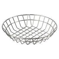 American Metalcraft WISS12 Stainless Steel Round Wire Basket 12 inch