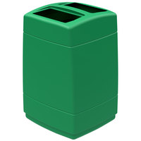 Commercial Zone 732836 PolyTec 55 Gallon Green Open Top Waste Container