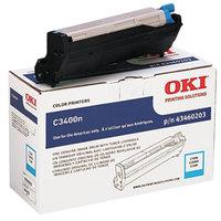 OKI 43460203 Cyan Printer Drum Cartridge