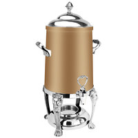 Eastern Tabletop 3203LHRZ Lion Head 3 Gallon Bronze Coated Stainless Steel Coffee Urn with Fuel Holder
