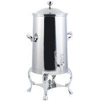 Bon Chef 47005C-E Renaissance 5 Gallon Insulated Stainless Steel Electric Coffee Chafer Urn with Chrome Trim
