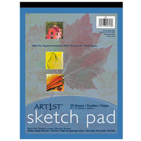 Pacon 4746 Art1st 9 inch x 12 inch 60# Heavy Weight Drawing Paper Sketch Pad
