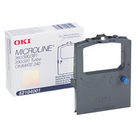 OKI 52104001 Black Microline Dot Matrix Printer Ribbon