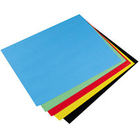 Pacon 54871 28 inch x 22 inch Peacock Assorted Color 4-Ply Railroad Board - 25/Case